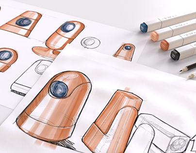 Industrial design sketchbook 2021