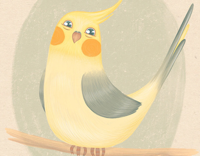 Illustration | My feathered friend
