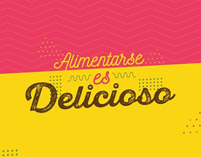Alimentarse es delicioso - Del Alba