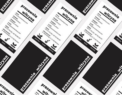 Pracownia Witryna - Visual & Brand Identity