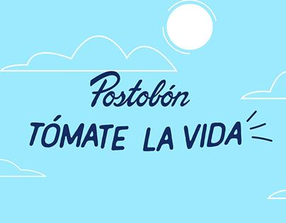 POSTOBON-TOMATE LA VIDA