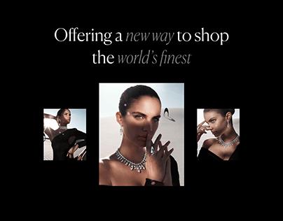 eCommerce design — Hight Jewellery boutique