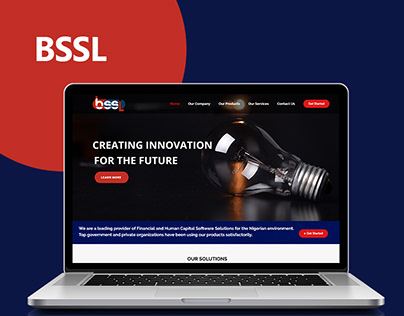 BSSL Technologies web presentation
