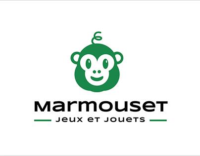 Projet Marmouset - logo, papeterie et annonce