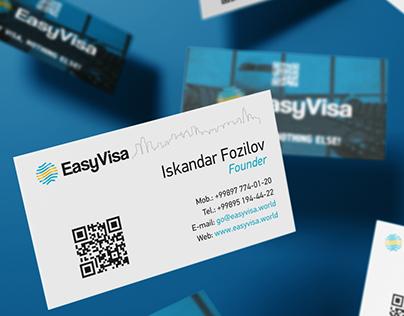 EasyVisa - Logo and Identity