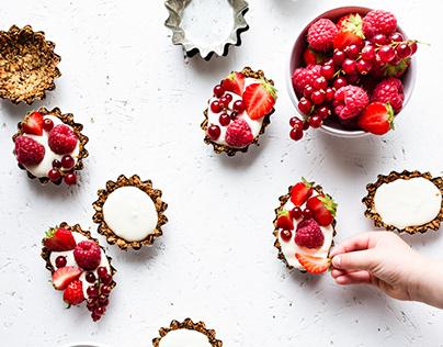 FOOD Red berries