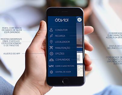 Projeto Acadêmico: Layout para App de Carro