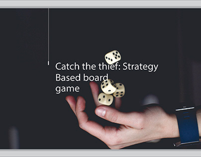 Catch the Thief: Strategy Board Game