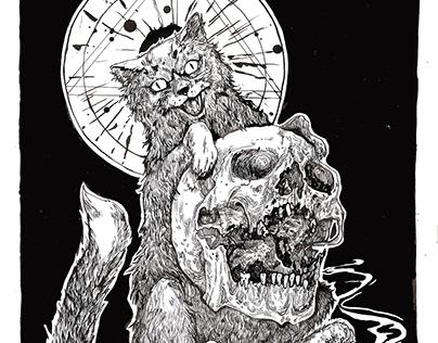 Ілюстрація до збірки жахів