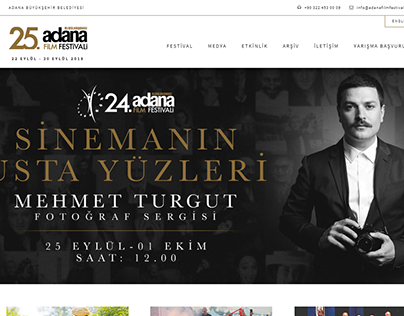 24th International Adana Film Festival website