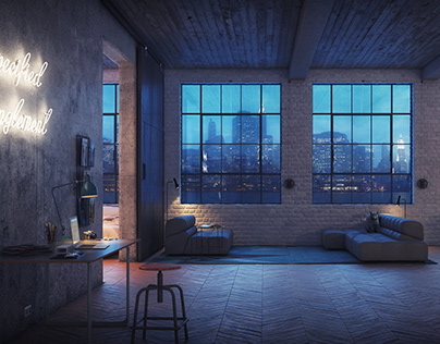 Architect's Loft // CGI