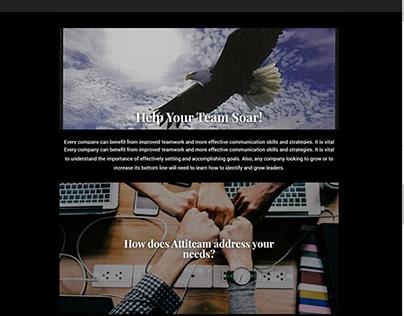 Attiteam LLC Website