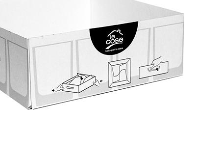 Packaging low-cost coop