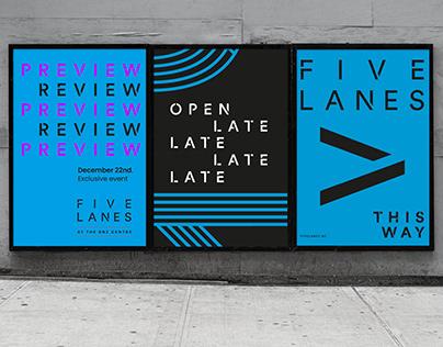 Five Lanes | Brand Identity