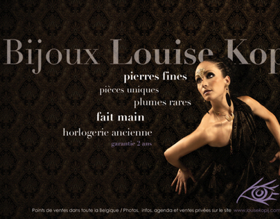 Louise Kopij Bijoux // Affiche