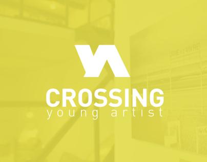 Crossing Young Artist // Logo et site web