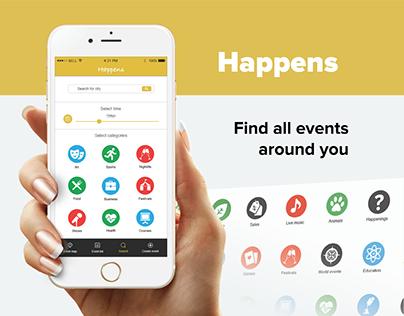 Happens - event app