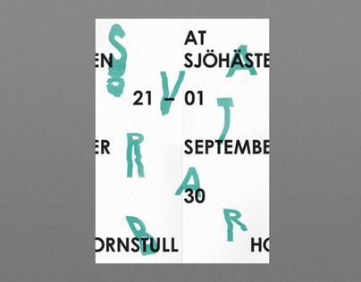 Svartbar Poster