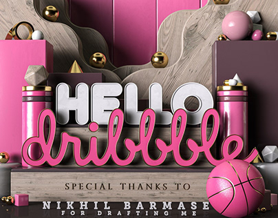 Hello Dribbble shot