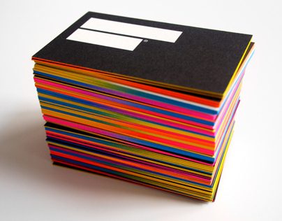 IS Creative Studio / business cards 3rd edition