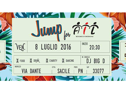 Facebook cover event • Jump for AIL •