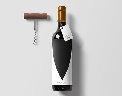 Wine Label Design - Zagaglia