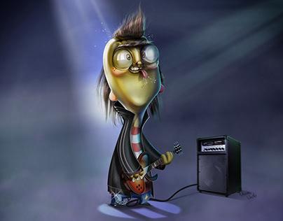 Eddy - Digital illustration