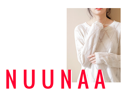 NUUNAA Fashion Website Concept
