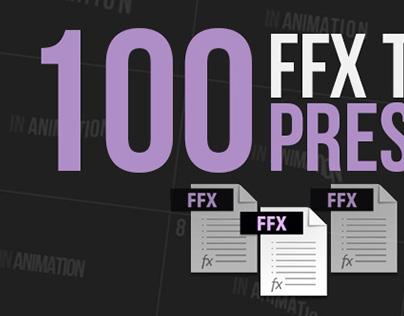 100 Bouncing Presets