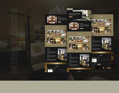 Interior decorator portfolio