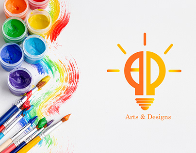 logo for youtube channel (Arts & Designs )