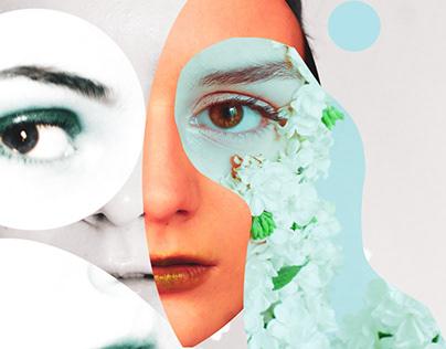 Self portrait collages