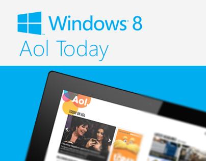 Aol Today Windows 8