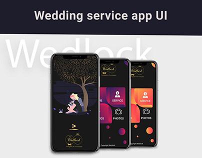 Wedding Service UI Design