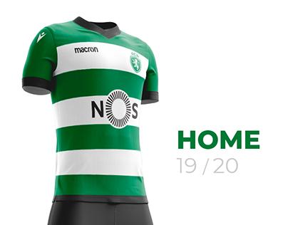 Sporting CP 2019-2020 Fantasy Home Kit