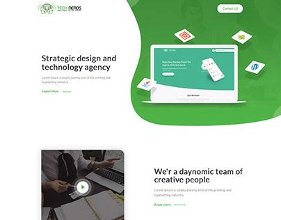 Design & Develop a Website for Digital Marketing Agency
