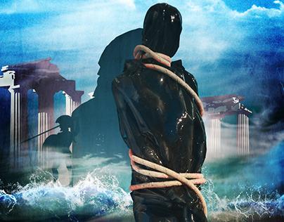 """Shipwreck of my soul """" Naufragio della mia coscienza""""."""
