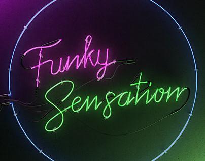 Funky Sensation Cover Artwork