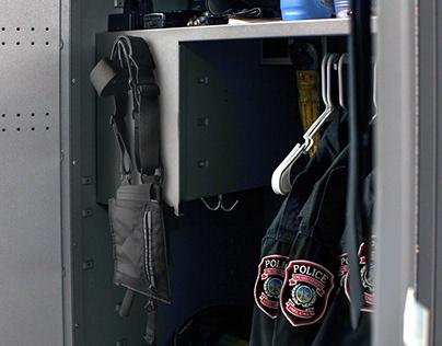 ISUPD Duty Suspender