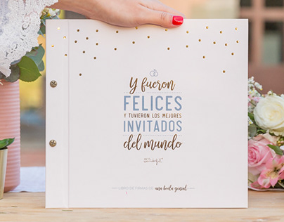 Wedding Sign Book | Mr. Wonderful