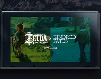 UI/UX Mashup: Zelda BOTW x Kindred Fates