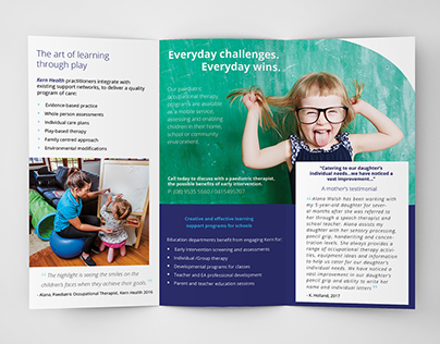 Kern Health Brochure