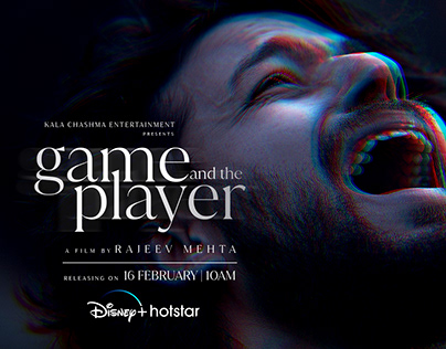GAME AND THE PLAYER SHORT FILM POSTER SOCIAL MEDIA KIT