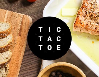 Tic Tac Toe Cafe - Branding