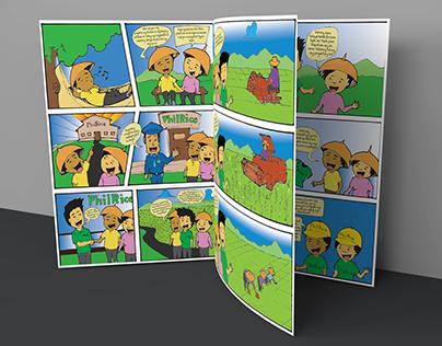 Palayabangan Prototype Comics - PhilRice, UPLB