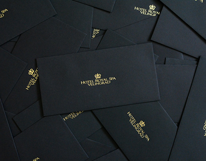 Hotel Royal Spa | Strategy, Stationery, Website