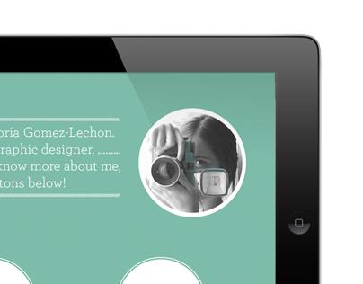 Interactive PDF Portfolio