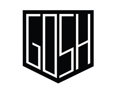 GOSH - bicycle parts logo