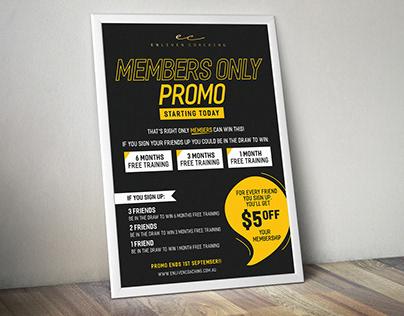 Gym Promo Poster