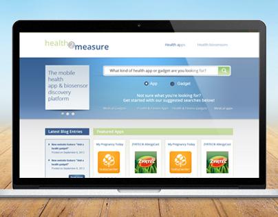 Logo & Web Design for Health Website